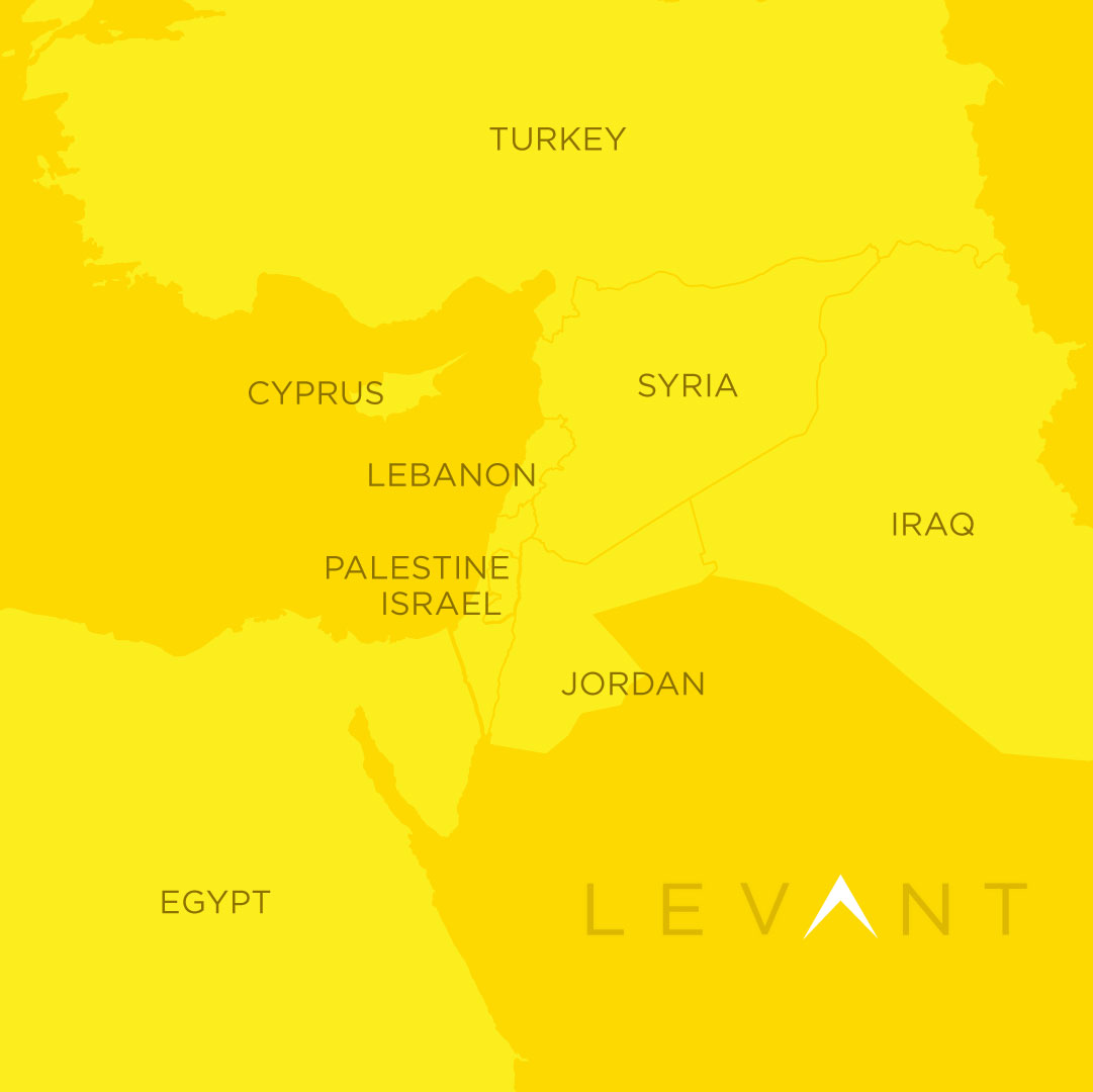 Where We Work: The Levant